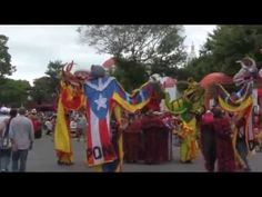 Bomba Puerto Rican Dance by Julia De Burgos dancers - YouTube