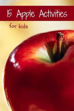 15 apple crafts