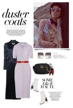 """""""Some like it vintage"""" by iriadna ❤ liked on Polyvore featuring Galvan, Dita, Altuzarra, Gucci, Acne Studios, Dunn, vintage, dress, fallstyle and Whiteboots"""