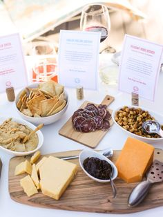 How to Host a Wine and Cheese Pairing Party + Free Printable - foodiecrush
