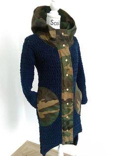 sasis / 2017 / Blue army Blue Army, Alpacas, Vest, Jackets, Fashion, Down Jackets, Moda, Fashion Styles, Fashion Illustrations