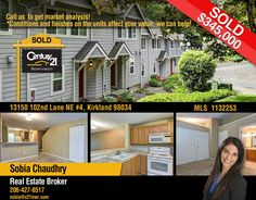 JUST SOLD Home in Kirkland WA 98034. LOOK! This Great Juanita community of Kirkland Village is now SOLD in just 5 Days on the Market w/ 106.15% More than the Asking Price!  Want to get your Home SOLD FAST & for TOP DOLLARS. Call us TODAY at 206-427-8517 for your FREE Home Valuation!!! Or visit our website here http://www.snohomishandkinghomes.com/sell/  #justsold #realestate #sold #Kirkland #nowsold #realtor #soldhome #sell #sobiasrealestate #washingtontrealestate #besthomes #besthomerealtor