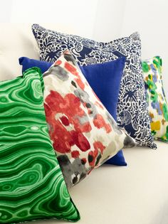 An eclectic mix of primary color statements...@DwellStudio #ModernColorTheory for Robert Allen