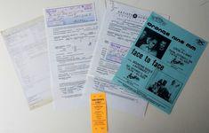 Orange 9MM Concert Contract Piece Of Music, Concert Tickets, Pittsburgh Pa, Orange, History, The Originals, Historia