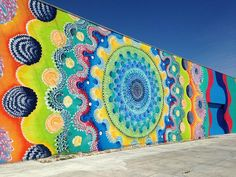 Douglas Hoekzema, Street Art #Streetart #Graphic #Mural #Grafitti #Mandala #Vector