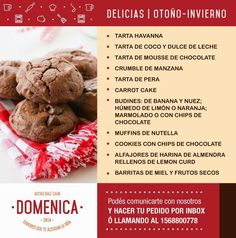 #Domenica | #Delicias Otoño-Invierno
