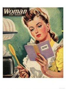 ALWAYS follow the recipe for the prefect results! ~ 1942 Woman magazine