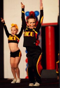 All-Star Cheerleading...yes, it is definitely a sport!!