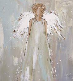"""Képtalálat a következőre: """"anita felix paintings"""" Christmas Paintings, Christmas Art, Painting & Drawing, Watercolor Paintings, Angel Paintings, Angel Wings Painting, Acrylic Paintings, Pinterest Pinturas, Kreative Portraits"""
