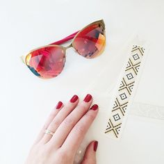 Back at it after the holidays with a bright pair of shades!
