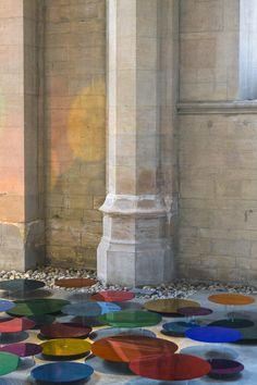 Liz West Fills A Historic Church With Luminous Art | iGNANT.com
