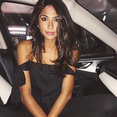 Beauty @piamiller in the Kobi Strapless Top | Available online now | #sirthelabel