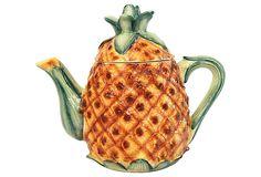 Hawaiiana Pineapple Teapot on OneKingsLane.com
