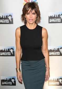 Lisa Rinna Picture 44 - NBC's Celebrity Apprentice: All-Stars Cast Announced Lisa Rinna Haircut, Short Hair Cuts, Short Hair Styles, Shaggy Haircuts, Classic Outfits, Classic Clothes, Classy Women, Reality Tv, Celebrity Pictures