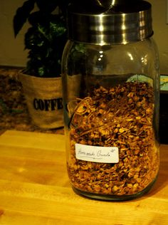 The Johnston's: {The Johnston's yummy & healthy granola recipe}