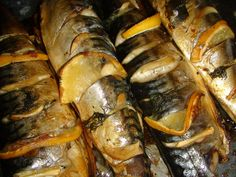 Romanian Food, Tasty, Yummy Food, Seafood, Sausage, Food And Drink, Ethnic Recipes, Calamari, Recipes