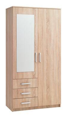 Wall Wardrobe Design, Wardrobe Interior Design, Wardrobe Door Designs, Wardrobe Room, Wooden Wardrobe, Wardrobe Furniture, Small Wardrobe, Wood Bed Design, House Furniture Design
