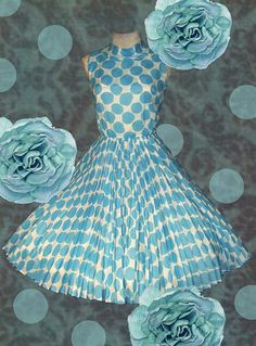 full skirts, party dresses, polka dots, vintag dress, tiffany blue, 50s vintage fashion, 50s wedding, 50s dresses, polka dot party