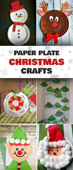 20 Easy Fun Paper Plate Christmas Crafts Christmascraftsforkids