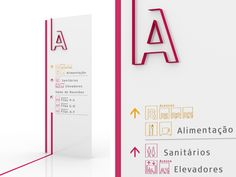 UNICAMP - Sinalização de Centro de Convenções by Estúdio 196 Branding & Design , via Behance