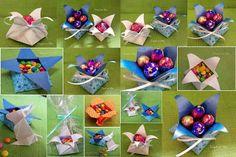 Cesta Origami - Ninho de páscoa ~ Arte De Fazer | Decoração e Artesanato