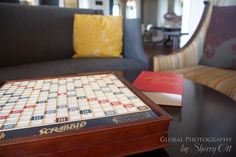 Games grace the coffee tables in the Algonquin Lobby