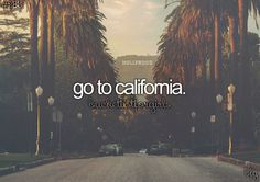 I've been to California but i want to go for a longer period of time and go with my friends