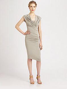 Donna Karan - Cowl Neck Dress