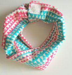Infinity Bib/ Scarf - Baby Toddler Boy Girl MORE PATTERNS AVAILABLE on Etsy, $13.33 CAD