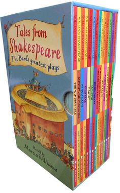 Tales From Shakespeare 14 books box Set. Shakespeare's most famous plays are presented in a comic strip form to entertain young readers by Marcia William. William Shakespeare For Kids, Richard Williams, Popular Books, Book Collection, Childrens Books, Age, Children's Books, Children Books, Kid Books