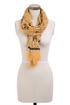 Type 3 Elephants on Parade Scarf - $16.97