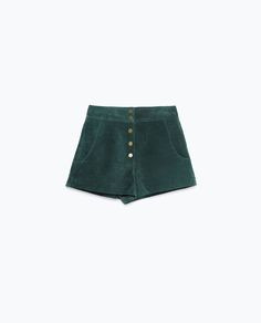 Image 8 of SUEDE SHORTS from Zara