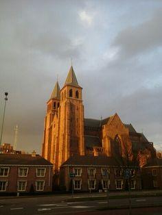 Walburgis church Arnhem, Netherlands.