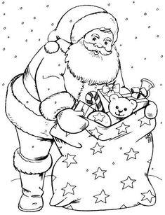 Santa bag of toys