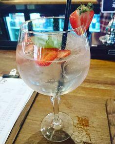Mmm #gin with strawberries basil & black pepper!  #Belgraveleeds #Leeds #Leedsbloggers #foodblogger #foodbloggers #instapic #katiecupcakelifewithme