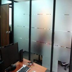 film esmerilado para privacidad- adhesivo ventanas y vidrio