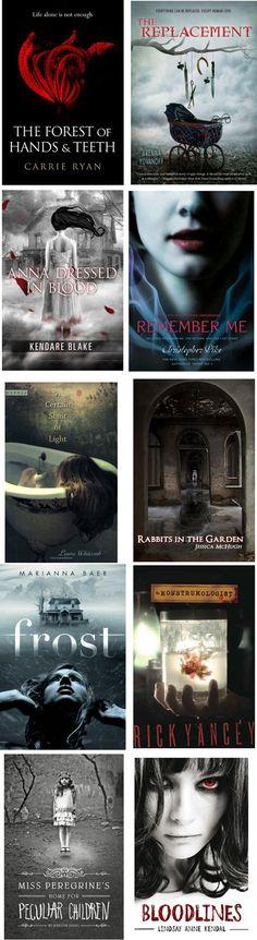 Good scary/creepy books: