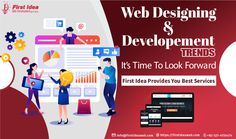 What are Website Design and Development Trends? Best Web Development Company, Design Development, Website Services, Home Trends, Web Wordpress, Digital Marketing, Web Design, Branding, Social Media
