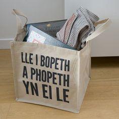 Welsh storage bag