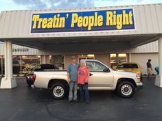 Thank you Robin & Joey Lineberger for your business. Enjoy your 2012 Chevrolet Colorado.