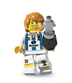 Đồ chơi LEGO Minifigures Series 4 (11) Soccer Player – Cầu thủ bóng đá
