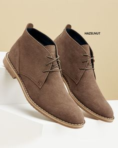 Suede Desert Boots at Cotton Traders