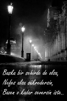 Başka bir şehirde de olsa, Nefes alsa şükredersin, bazen o kadar seversin işte..  #sözler #anlamlısözler #güzelsözler #manalısözler #özlüsözler #alıntı #alıntılar #alıntıdır #alıntısözler