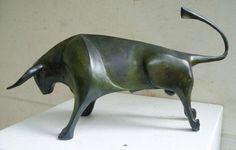 Bronze taureau