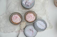 Delicious Cupcakes in a jar