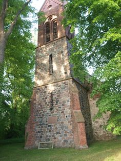 Klein Lübars,  Kirchturm