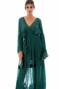 Vestido Galena Verde - Helo Rocha - Dress & Go