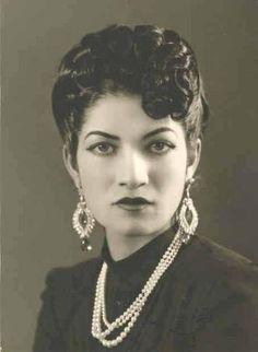 Ashraf Pahlavi - Twin Sister of the Shah of Iran.