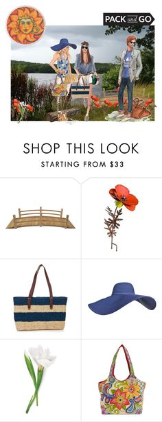 """""""Labor day weekend!"""" by stormi3 ❤ liked on Polyvore featuring Sensi Studio, Sun N' Sand and Packandgo"""