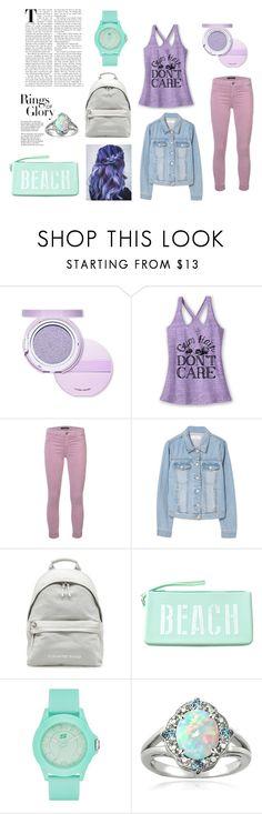 """Lilac Mint"" by rqsu ❤ liked on Polyvore featuring Etude House, J Brand, MANGO, Tamara Comolli, Skechers, Glitzy Rocks and Tiffany & Co."